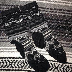 Warm wool blacks socks (2 pairs)